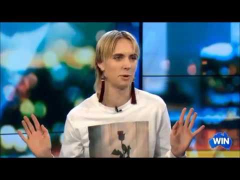 Danish Singer - MO - 1st. Live Australian Tv Interview Nov. 29, 2017