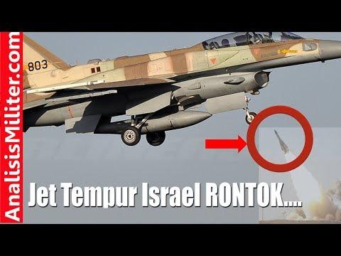Dihajar Rudal Buatan Rusia, Pesawat Tempur F-16 Israel Jatuh. Ada apa??
