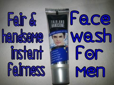 emami fair and handsome face wash review