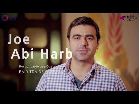 Social Business Camp - Pitch Participant - Joe Abi Harb, FairTrade Lebanon, Liban