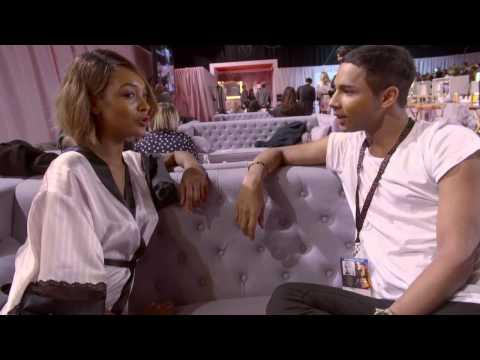 Victoria's Secret: Olivier Rousteing meets Jourdan Dunn