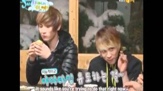 SHINee games ( hand of truth and age swapping )part 1.wmv