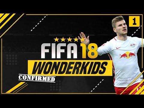 CONFIRMED FIFA 18 CAREER MODE WONDERKIDS?! - ft. Werner, Onyekuru & Gabriel Jesus [#1]