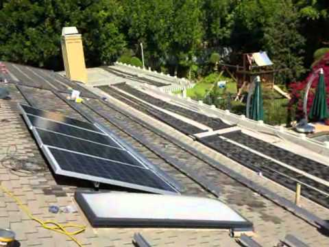 Photovoltaic electric power installations