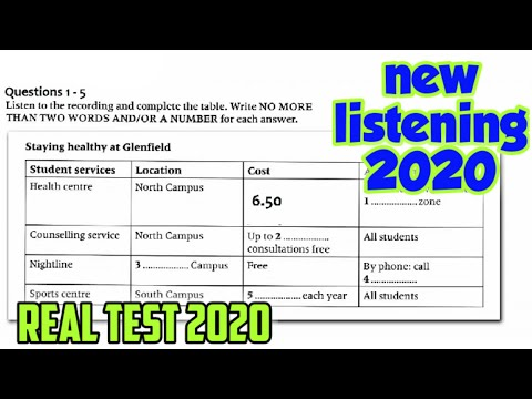 Visa Application Form Listening Test The Applicant Wants To Apply For A Visa To Australia New Youtube