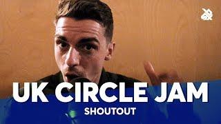 SARO, REEPS ONE, MAD TWINZ, GENE, ALEXINHO, BALL ZEE ...| UK Circle Jam