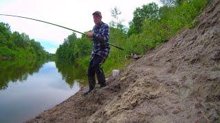 Рыбалка после дождя 13 юиня 2021 Ловля плотвы