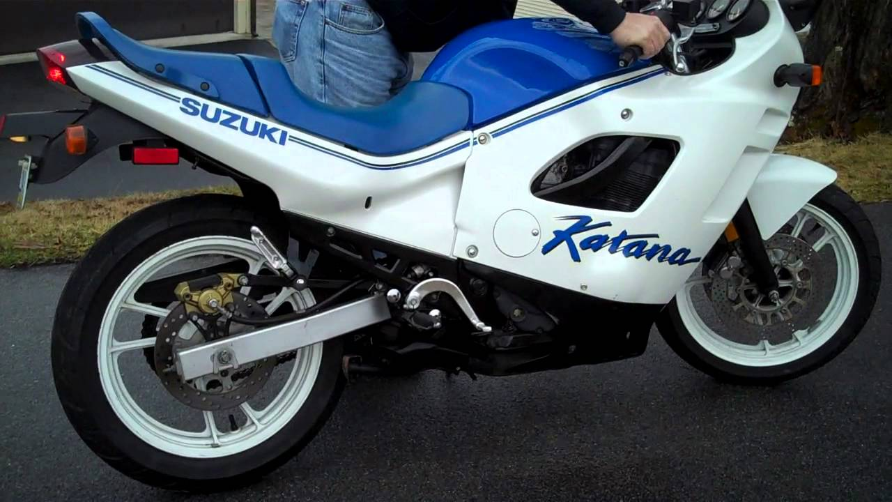 88 Down 88 A Month >> 1988 Katana 600 GSXF - YouTube