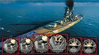 Yamato - 7 KILLS - World of Warships