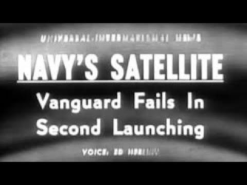 Vanguard TV3 Rocket Launch Explosion