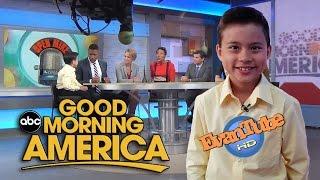 EvanTubeHD on GOOD MORNING AMERICA!  - New York PART 2