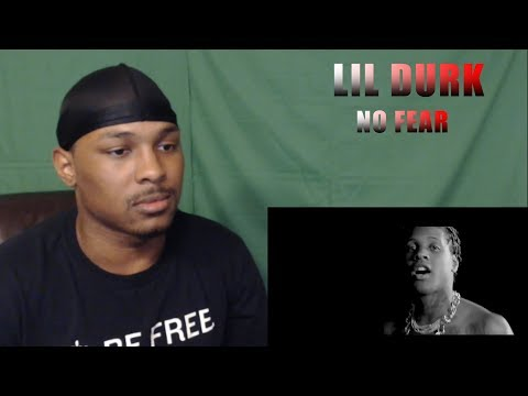 BEST OUT OF CHICAGO??? Lil Durk - No Fear (Official Music Video) REACTION