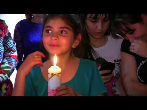 Клип крещение в Армянской церкви