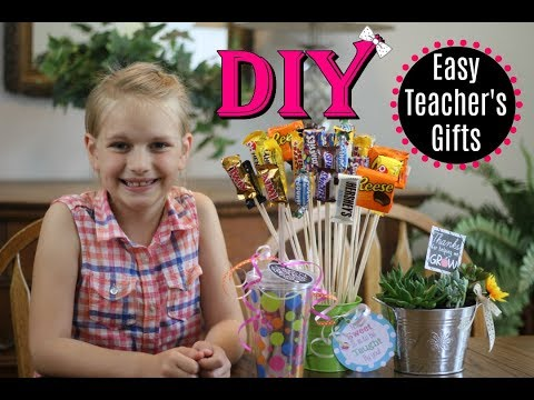 Easy DIY Teacher Gifts