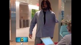 Impractical jokers - Q trying out hilarious costumes
