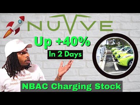 NBAC Stock : Should You Buy? (Nuvve Top EV Charging Company)