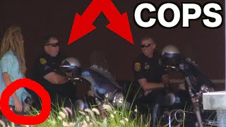 PRANK ON COPS! Disturbing The Beach Pranks Part 5 (2015) | JOOGSQUAD PPJT