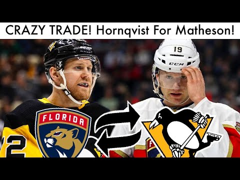 CRAZY TRADE! Patric Hornqvist For Mike Matheson, Sceviour! (NHL Trade News & Penguins Rumors 2020)