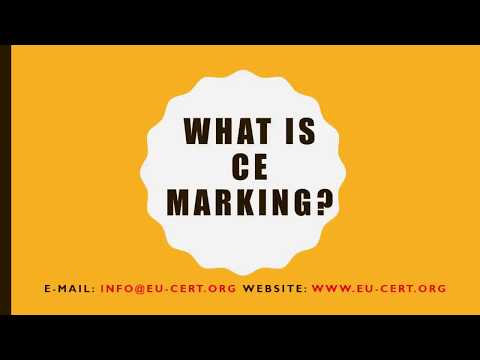 What is CE Marking Certification?