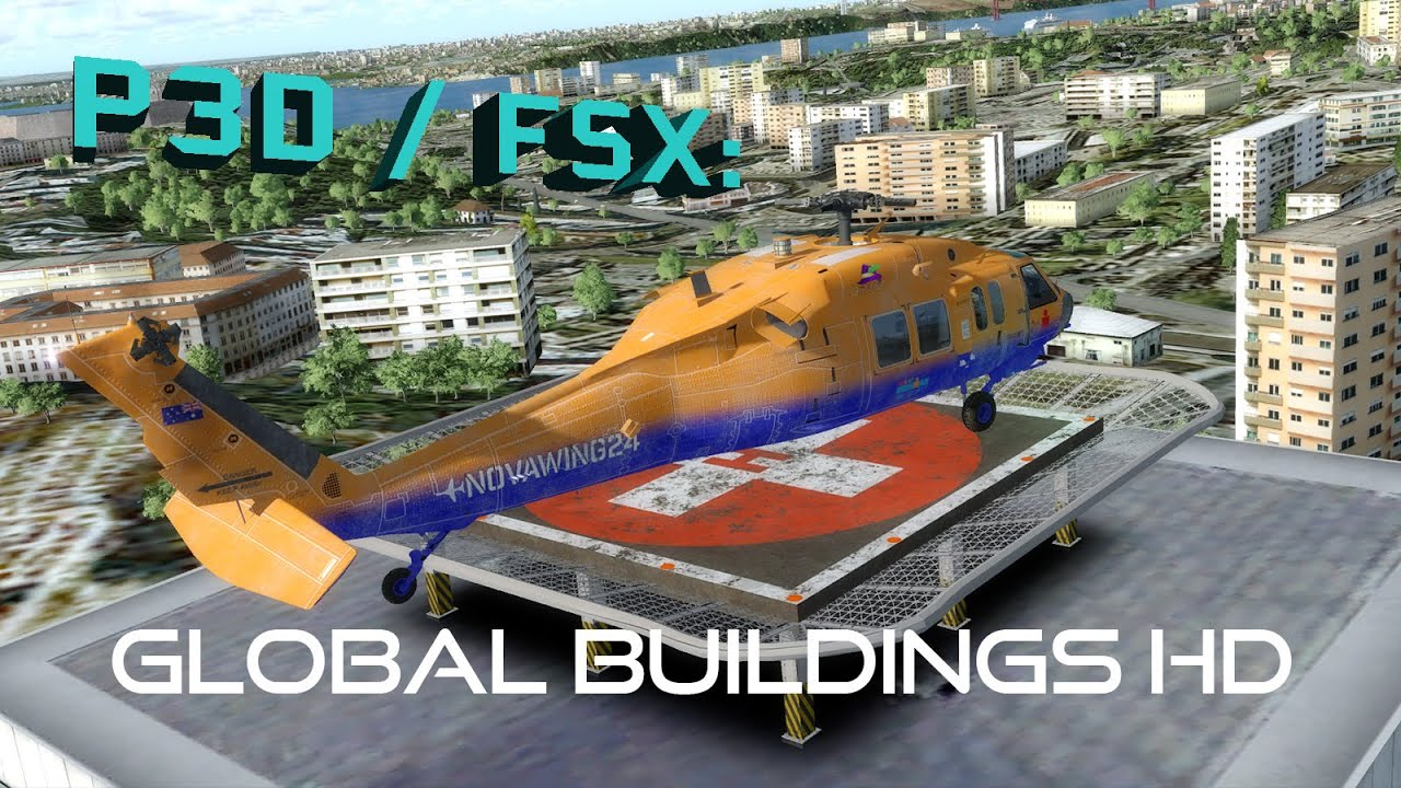 FSX / P3D Review - Orbx Buildings HD