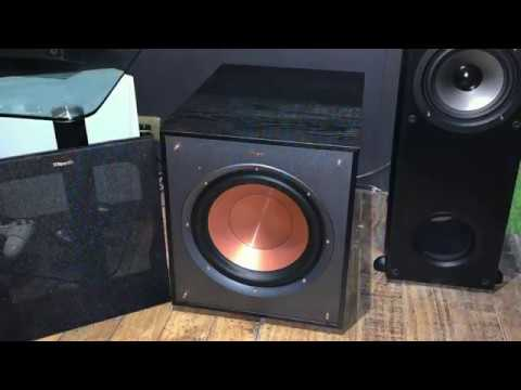 Klipsch R-100SW - Port Noise Demo