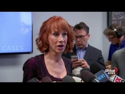 Kathy Griffin full news conference on Donald Trump  'severed head photo' controversy