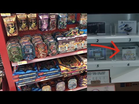 Pokemon Cards VENDING MACHINE AT A MOVIE THEATER??! + Pokehunt at Target! (Buying Pokemon Cards!)