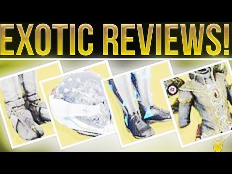 Destiny 2 Exotic Reviews. Lunafaction Boots, Eye Of Another World, Transversive Steps and More!