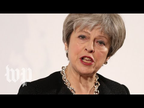 Theresa May delivers a statement about nerve agent attack on Russian spy