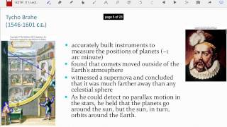 ASTR 111 Lecture 07: Copernicus to Galileo