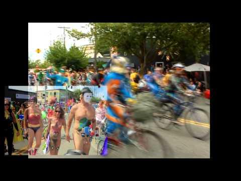 Nude Bike Parade Fremont Summer Solstice Seattle