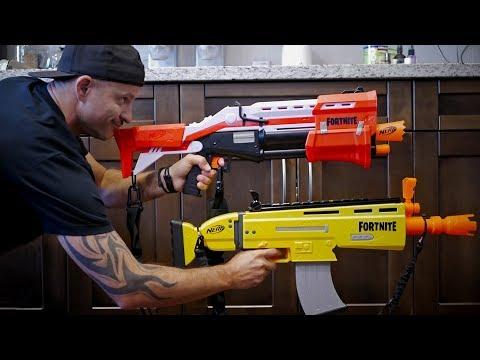 NERF GUN WAR 10 | Fortnite Blasters Vs Clones