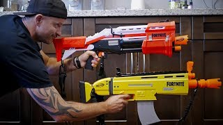 NERF GUN WAR 10 | NERF Fortnite BLASTERS