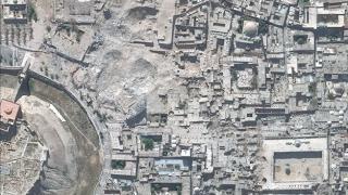صور الأقمار الاصطناعية توثق إجرام طائراتهم ومحلل روسي ينفي على طريقة الأسد ! -هنا سوريا