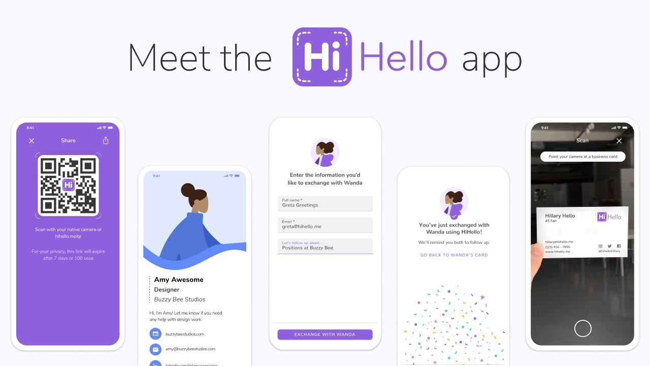 Meet the HiHello App - YouTube