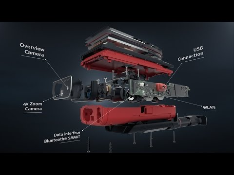 3D座標が取得できるレーザー距離計 Leica DISTO S910