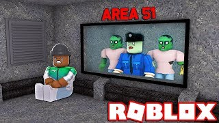 AREA 51 ZOMBIE ATTACK IN ROBLOX
