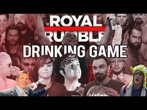 DRUNK ROYAL RUMBLE REACTIONS!