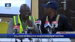 Collation Of Results In Osun Governorship Election Pt.7  Osun Decides 