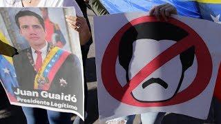 Два президента Венесуэлы | ВЕЧЕР | 23.01.19