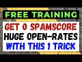 How to AVOID Spam Filters When Sending Emails Using This FREE  quot How to REDUCE Spam Score quot  Guide