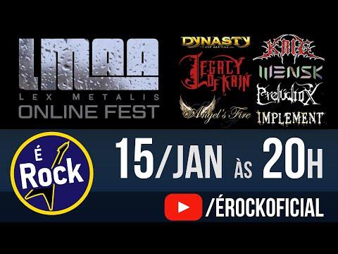 Lex Metalis Online Fest - 15 Janeiro 2021 às 20h /// É Rock