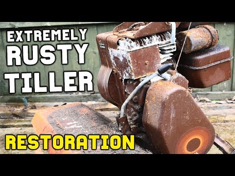 TILLER RESTORATION (Will It Ever Run Again)
