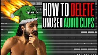 How to Remove / Delete / Purge Unused Audio Clips in FL Studio 12