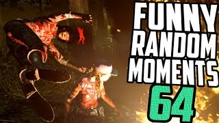 Dead by Daylight funny random moments montage 64