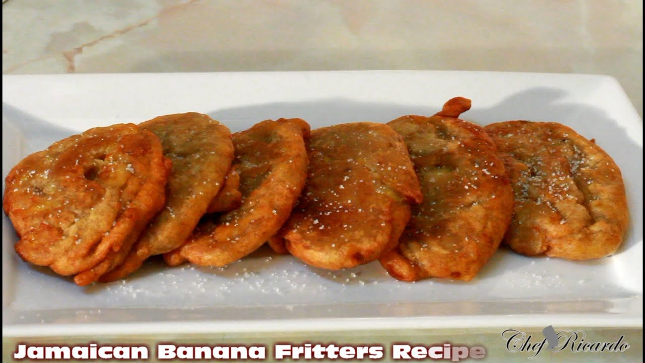 Jamaican banana fritter recipe from jamaican chef caribbean food jamaican banana fritter recipe from jamaican chef caribbean food youtube forumfinder Images