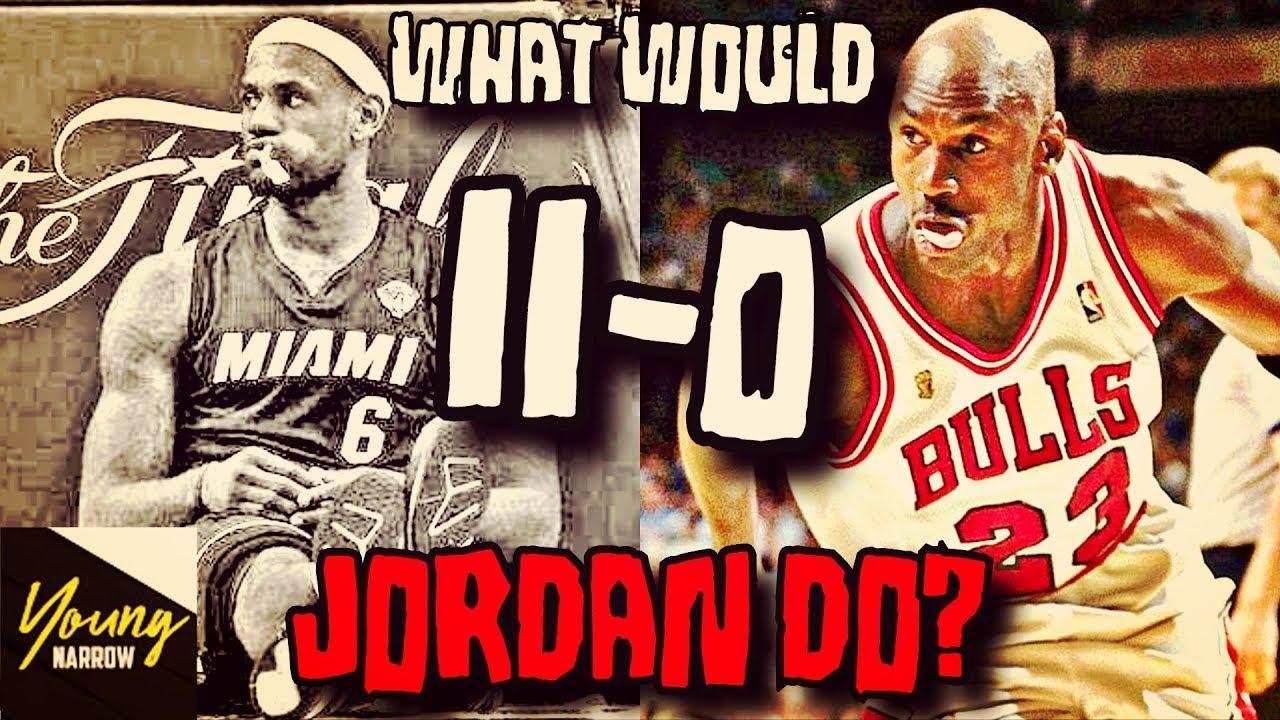 nowy design super jakość świetne oferty COULD MICHAEL JORDAN WIN ALL THE NBA FINALS LEBRON JAMES LOST(11-0)?!?  SIMULATION ON NBA 2K18