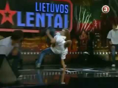 Lithuania's GOT talenT! - Real Time Modify.!. BreakDance Group!