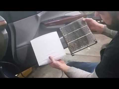 Replace Cabin Air Filter - Honda Accord