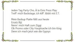 Haftbefehl - Á La Elvis Press Play Lyrics